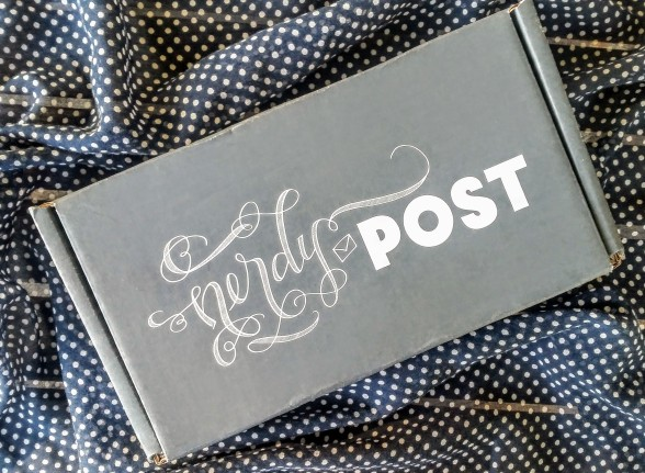 Nerdy Post Is A Subscription Box Service For Paper Goods And The Like Featuring Fandoms From Books TV Movies Each Month Different Theme Created