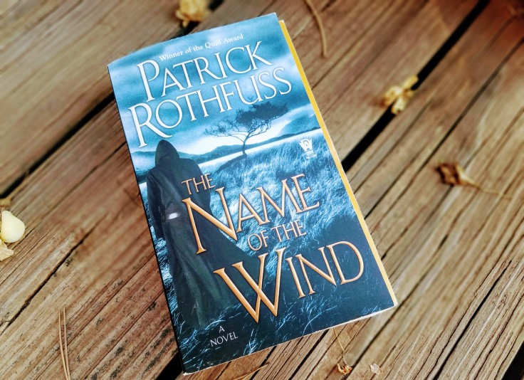 Paperback of The Name of the Wind